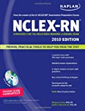 img - for Kaplan NCLEX-RN Exam 2010 with CD-ROM: Strategies for the Registered Nursing Licensing Exam book / textbook / text book