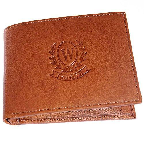 Wrangler Men #39;s Wallet  Beige