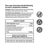 CleanWell Botanical Disinfecting Wipes, Lemon, 35