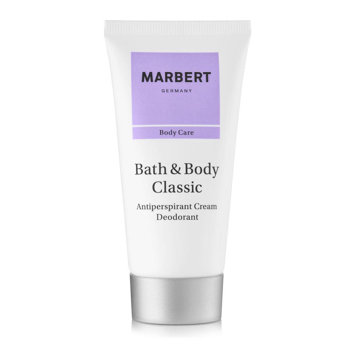Marbert Bath & Body Classic anti-traspirante deodorante crema 50 ml 4085404530045