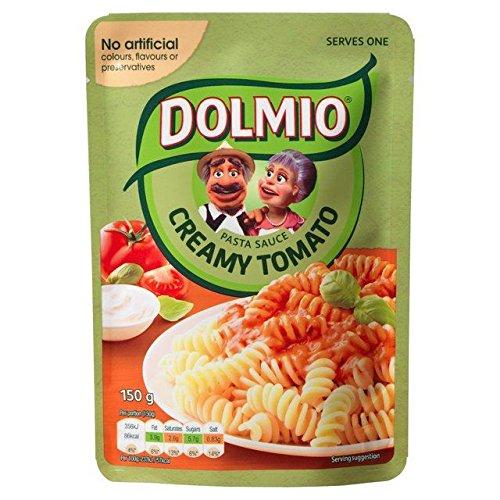 Dolmio Cremosa De Tomate Microondas Salsa De Pasta 150g (Paquete de 6)