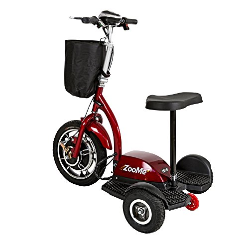 Electric Sit Down Scooter >> Drive Medical Zoome Three Wheel Recreational Power Scooter ...