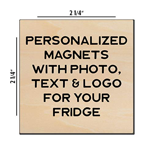 Customazible Fridge Magnets - 2 1/4