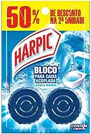 Bloco Sanitário Para Caixa Acoplada Harpic Fresh, 2 unidades