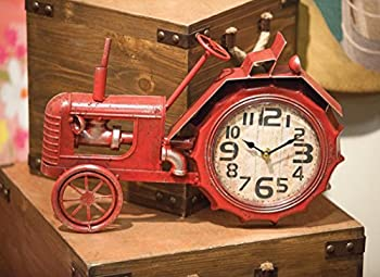 Tractor Table Clock