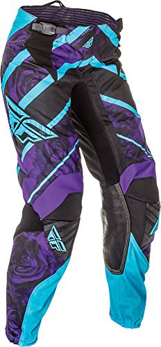 Fly Racing Kinetic Race - Fly Racing Unisex-Adult Kinetic Ladies Race Pants (Purple/Blue, Size 26)