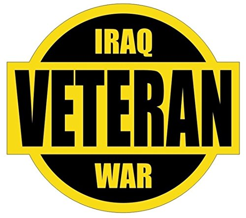 1 Pcs First-class Popular Iraq War Veteran Car Sticker Persian Military Army Forces Marines Label Size 2