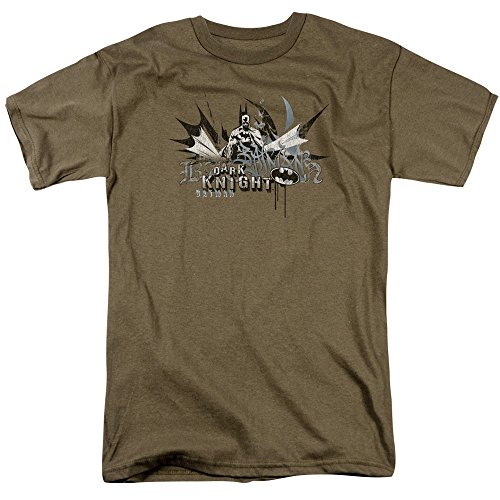 Trevco Men's Batman Dark Knight Graffiti Adult T-Shirt at Gotham City Store