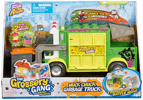 The Grossery Gang Putrid Power Muck Chuck Garbage Truck
