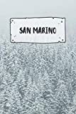 San Marino: Ruled Travel Diary Notebook or Journey  Journal - Lined Trip Pocketbook for Men and Women with Lines