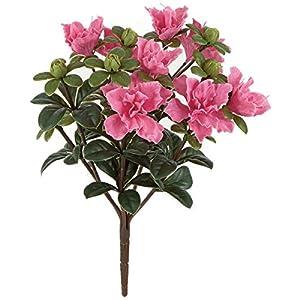 Windowbox Artificial Azalea Bush Pink - 14 inches 88