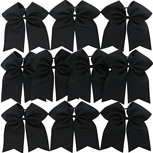 qinghan-10pcs-boutique-cheer-bows-baby-girl-large-cheerleading-hair-bow-ponytail-holder-hair-elastic