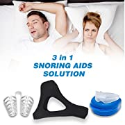 Maxpro - One of the 3 products will help reduce your snoring. When it comes to snoring the phrase. 1 fit suits all, does not apply. So we have developed the 3 best snoring devices and packaged them together for your use. Each device works in a differ...