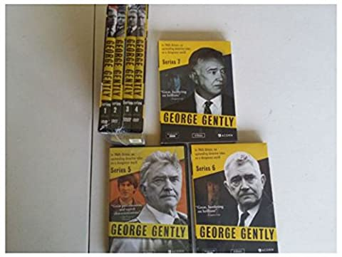 The George Gently complete Series:Seasons 12 3 4 5 6 7 DVDs set (The Middle Season 1 2 3 4)