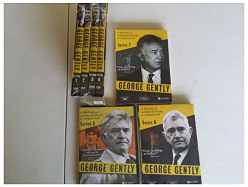 The George Gently complete Series:Seasons 12 3 4 5 6 7 DVDs set