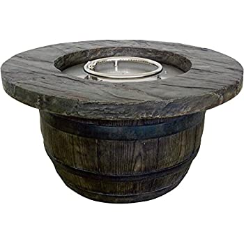 this item vineyard propane fire pit 3465in dia x 18inh