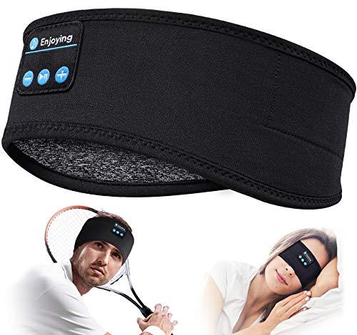 Sleep Headphones Bluetooth Sleeping Headband – V 5.0 Sleeping Headphones Music Headband, Ultra-Soft Headphone Headband…