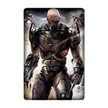 Personalized Protective Hard Textured Game Enemy Territory: Quake Wars Cell Phone Case Cover Compatible with Ipad Mini/Mini 2/Mini 3 Design by [Lisandro sienra]
