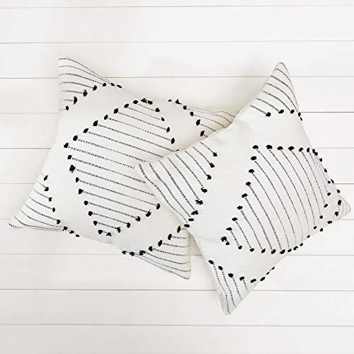 Outdoor Bohemian diamond throw pillow covers