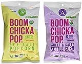Boom Chicka Pop Organic Popcorn Snack Packs - 24 Packs