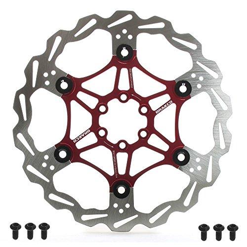 BRAKCO Floating Pro Mountain Bike Disc Brake Rotor 6 Bolts ()