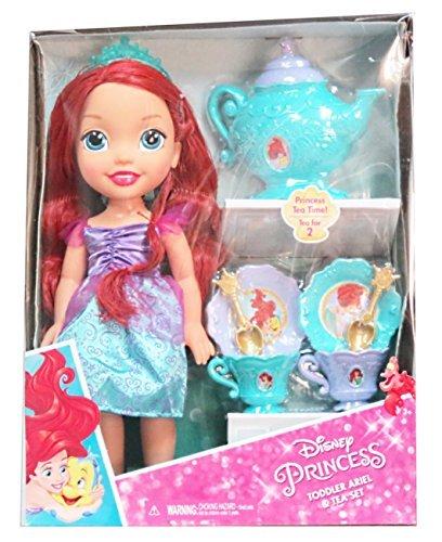 Disney Princess Toddler Ariel Doll & Tea Set