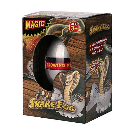 Growing Snake - Efaster Magic Dinosaur Egg Easter Egg Hatching Egg Different Add Water Growing Toys (Snake)