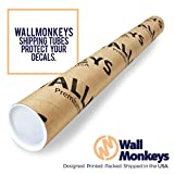 Wallmonkeys Pulpit Rock Wall Decal Peel and Stick
