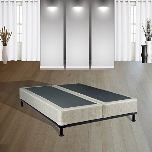 Continental Sleep 8-Inch Queen  Size Fully Assembled Split Box Springs For Mattress, Today's Dream Collection by Continental Sleep
