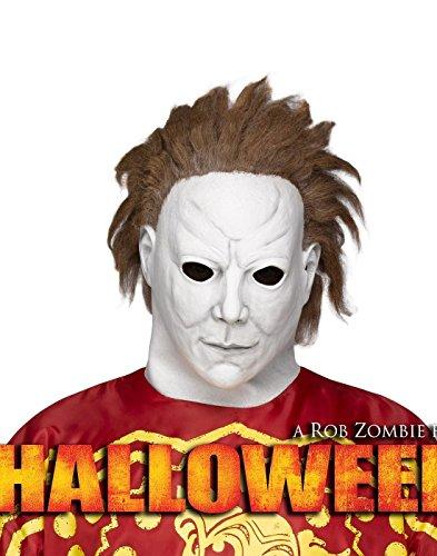 [Fun World Michael Myers Beginning Mask Adult Adult] (Rob Zombie Halloween Masks)