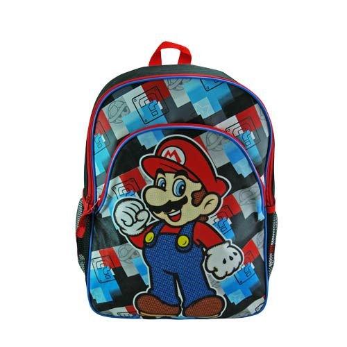 Super Mario School Backpack Check