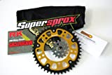 Supersprox Stealth 520 Chain and Sprocket Set for Honda CBR 954 RR FIREBLADE (2002-2003)