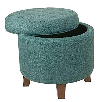 Marvelous Amazon Com Albero Classic Teal Rich Wood Finish Round Uwap Interior Chair Design Uwaporg