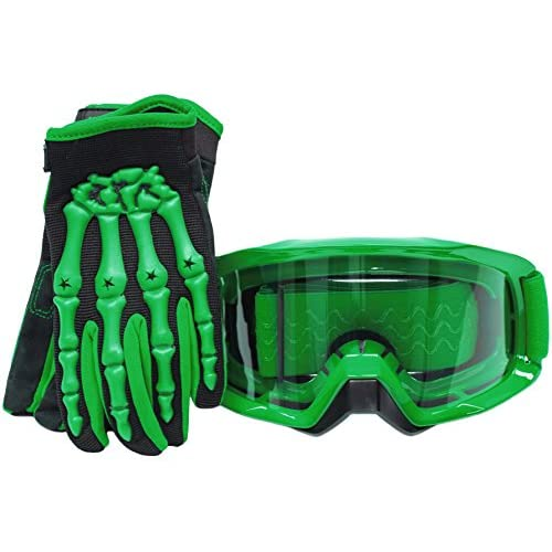 Dirt Cheap Apartments For Rent: Typhoon Youth Glove & Goggle Combo Motocross Offroad ATV