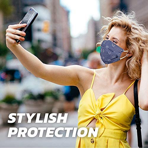 Enjoy Holiday 1981 Washable Reusable Fashion Stylish Face Masks for Women Adult Gift