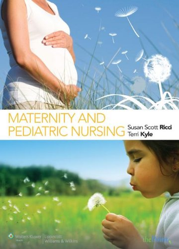 Ricci &amp: Kyle: Maternity and Pediatric Nursing and Study Guide That Accompanies the Text by Brand: Lippincott Williams n Wilkins