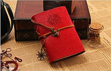 Amazon.com : Stationery Agenda Blank Paper Notebook Thick ...