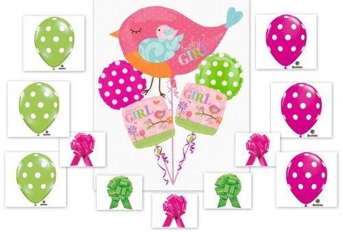 Amazon Tweet Baby Girl 16pc Balloon Baby Shower Birthday Party