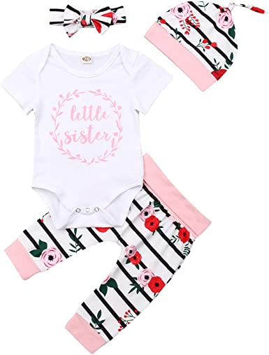 Baby Girls Romper Dress and Hat Set ~ Watermelon Designs ~ Newborn to 12 Months