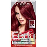 L'Oréal Paris Feria Multi-Faceted Shimmering Permanent Hair Color, R57 Cherry Crush (Intense Medium Auburn), 1 kit Hair Dye