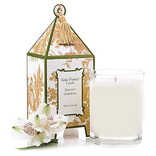 Seda France Pagoda Box Candles 10.2 Oz,Elegant Gardenia