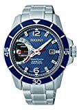 Seiko SRG017P1 Men's Sportura,Kinetic Direct Drive,Stainless Steel Case And Bracelet, Water Resistant