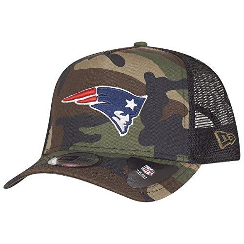 New Era NFL New England Patriots A-Frame Trucker Cap - Camo -
