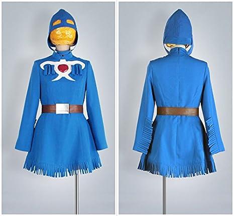 Cosonsen Nausicaa of The Valley of The Wind Nausicaa Naushika Cosplay Costume (Men M)
