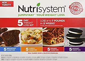 Amazon.com: Nutrisystem Jumpstart Your Weight Loss 5 Day Weight Loss Kit: Health & Personal Care