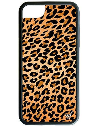 iPhone 6、7、または8用Wildflower限定版iPhoneケース(ヒョウ柄)   B07H5V67RF
