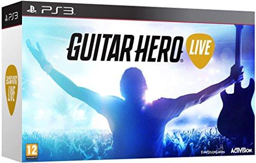 Guitar Hero Live with Guitar Controller (PS3) (Guitar Hero Aerosmith Ps3)