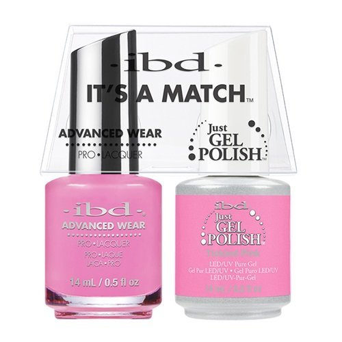 ibd Advanced Wear Color Duo Tickled Pink #488 UV Gel Color