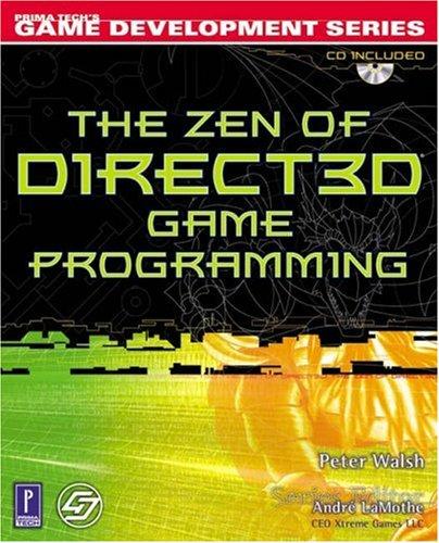 The Zen of Direct3D Game Programming (Prima Tech's Game Development) by Brand: Muska n Lipman/Premier-Trade