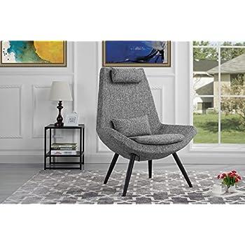 Amazon Com Rivet Farr Lotus Accent Chair Aqua Kitchen